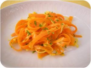 Le carote sembrano abbastanza allegre